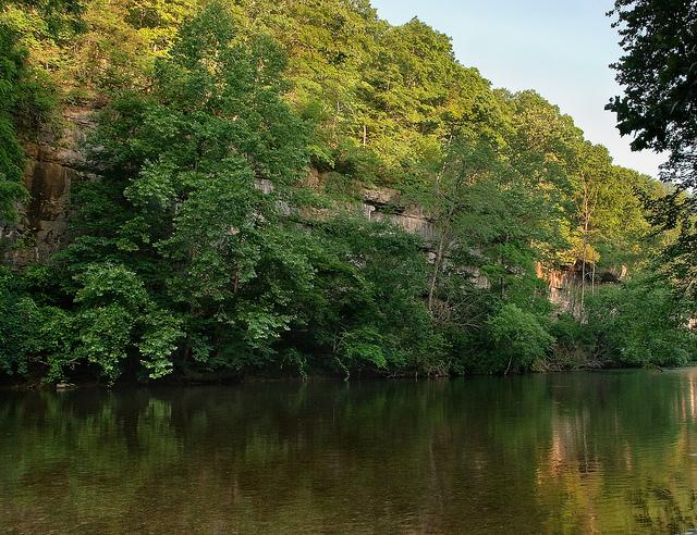 This area Hammond Camp  on the North Fork of the White River was one of some 700 miles designated a 'Blueway' by the federal government.