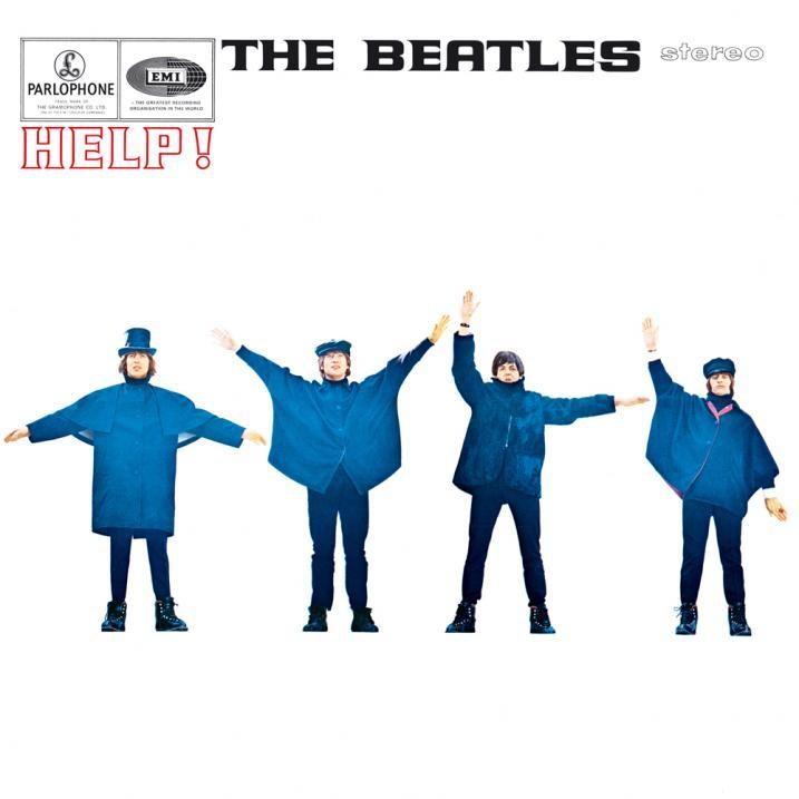 The Beatles ~ 'Help!' album cover