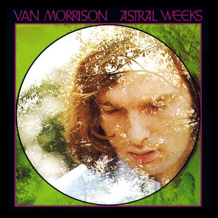 Van Morrison ~ 'Astral Weeks' album cover