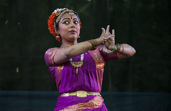 Samarpita Bajpai performs 'Shiva's Dance,' a classical Indian dance from Andhra Pradesh, India.