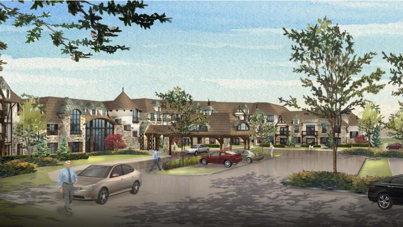 The proposed Mission Chateau senior living development would have replaced a former middle school at 8500 Mission Rd.
