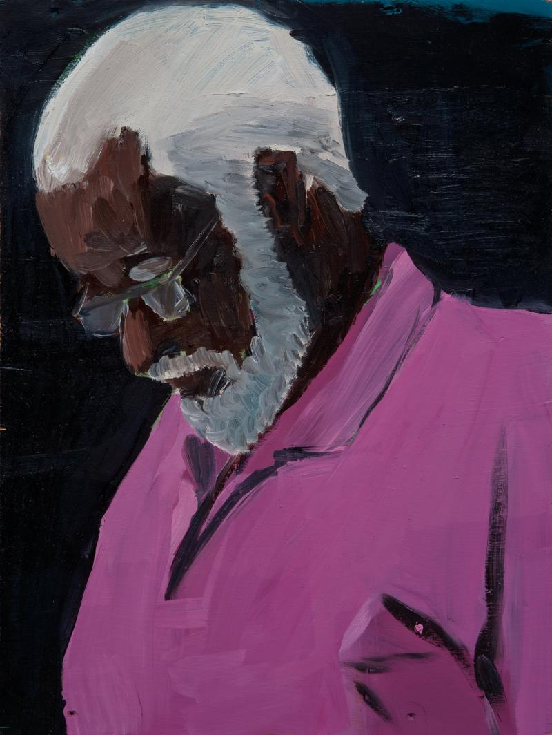 Paul Anthony Smith, Alfred, 2011 oil on canvas