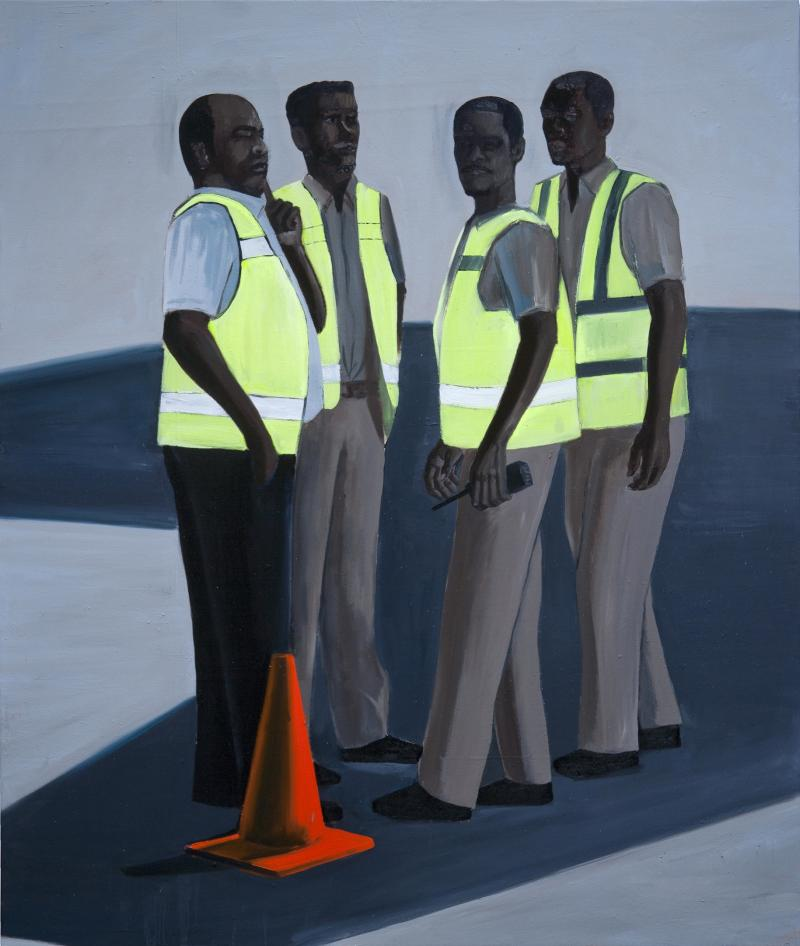 Paul Anthony Smith, Tarmac Break, 2011, oil on canvas