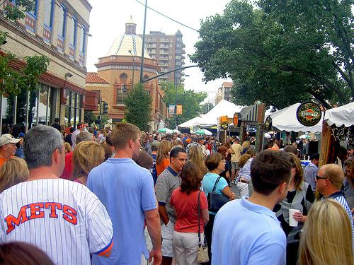 The Plaza Art Fair, as it looks today.
