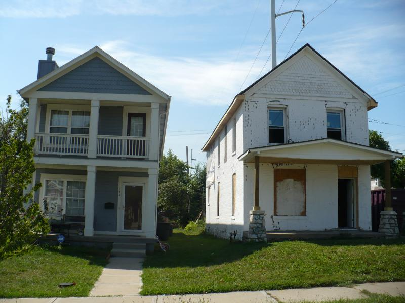 Community Housing of Wyandotte County (CHWC) acquired unkept properties in the target area and have rehabbed or built over 70 homes and have offered multiple first time homeowner assistance grants.