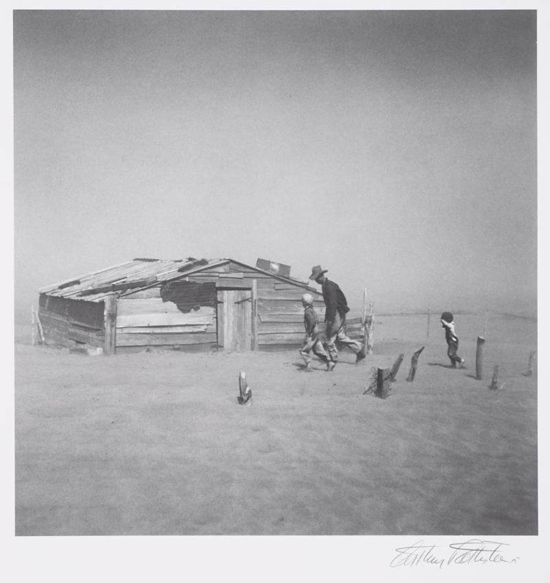 Dust Storm, Cimarron County, Oklahoma, 1936