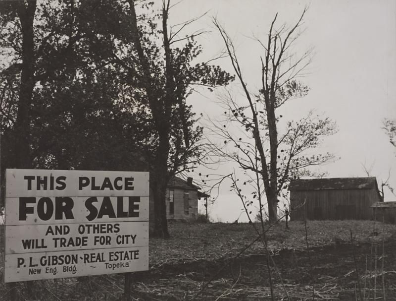 Farm for Sale, Jefferson County Kansas, 1938