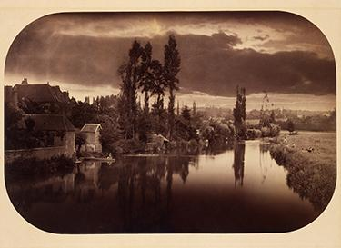 Camille Silvy, French (1834-1910). River Scene, 1858.