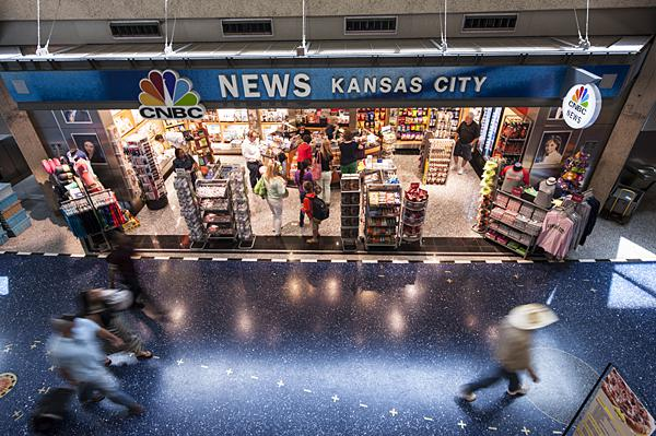 CNBC News and Gifts is one of the shops in Terminal A.