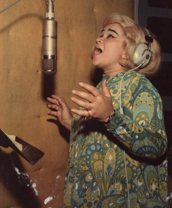 Etta James recording at FAME Studios