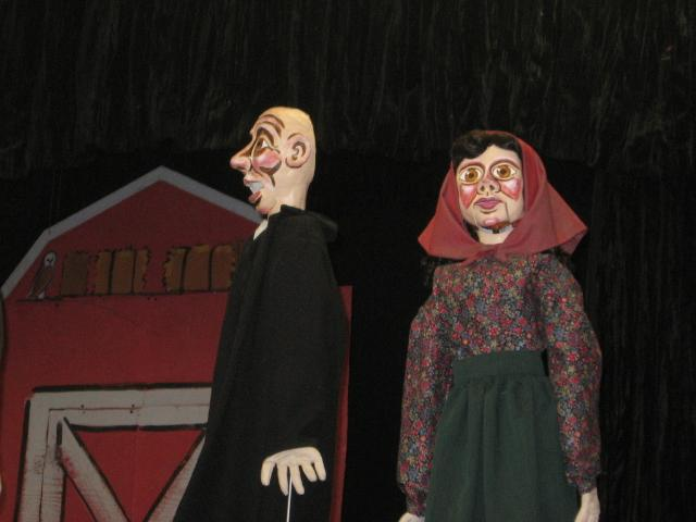 Jewish Community Center stages 'Herschel and the Hanukkah Goblins' by Paul Mesner Puppets.