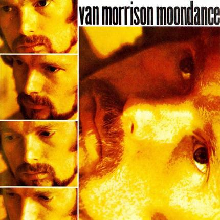 Van Morrison's 1970 album cover for 'Moondance'