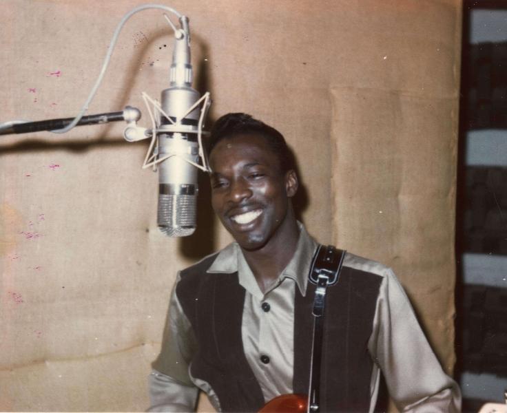 Wilson Pickett recording at FAME Studios