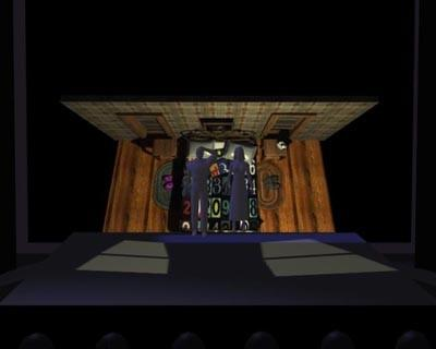 For 'Adding Machine: A Musical,' Mark Reaney computerized an idea for the set design.