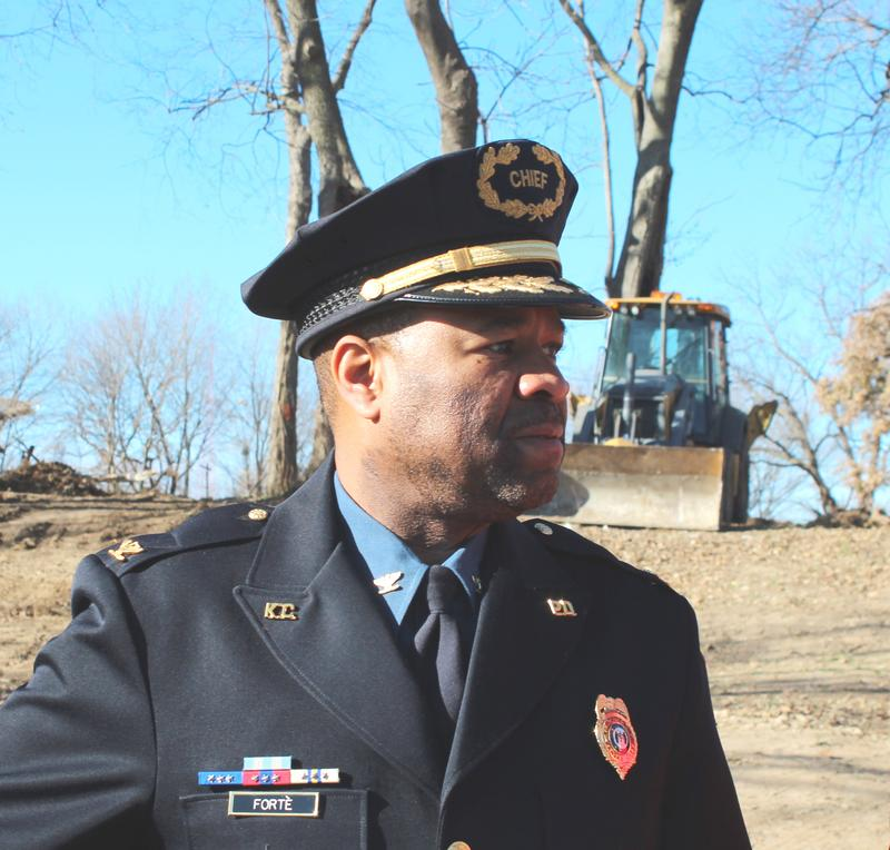 Kansas City Police Chief Darryl Forté announced Wednesday that he will retire from the force in May.