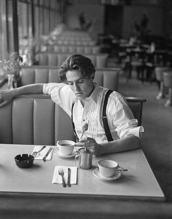 British actor Hugh Grant.