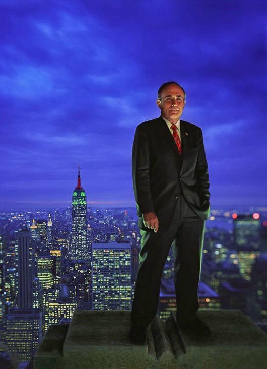 Former New York mayor Rudy Giuliani.