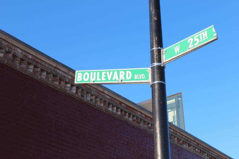 Boulevard Blvd:  Boulevard's name reflects its address, and also the fact that early leaders designed much of Kansas City around a system of parks and boulevards.