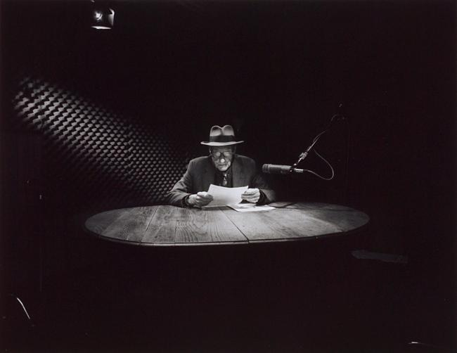 Jon Blumb, Recording Session for a Music Video, September 25, 1992, gelatin silver print.