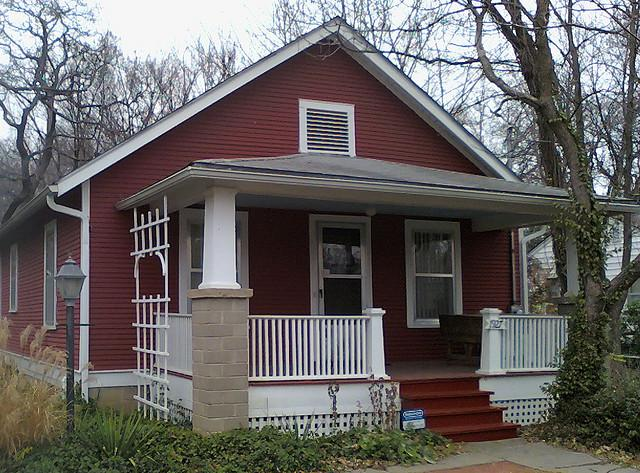 Burroughs lived his final years in this house at 19th and Learnard in Lawrence, Kan.
