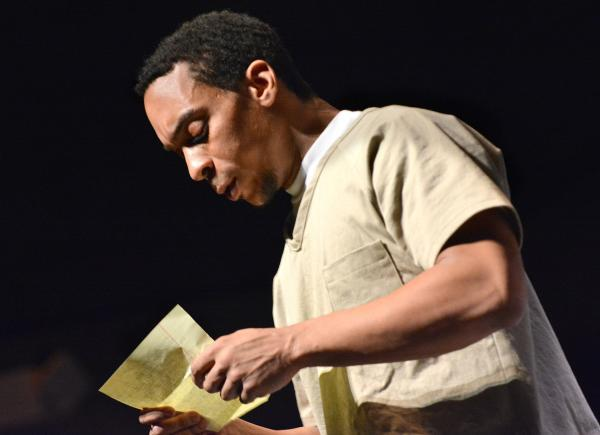 Will Cobbs (as Damon Robinson) reads a letter sent to a family member that was returned to him unopened.
