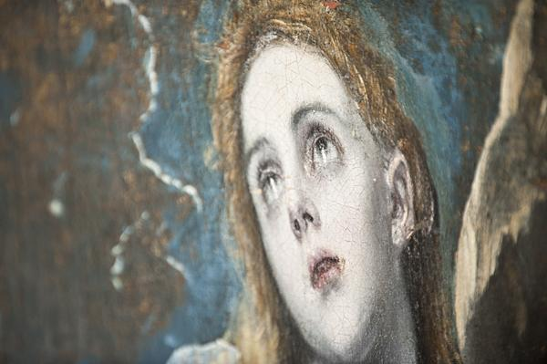 "El Greco's ""The Penitent Magdalene"" looks to heaven."