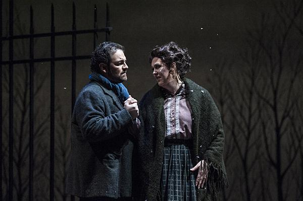 Giacomo Puccini's doomed bohemian lovers feature Giorgio Berrugi, as Rodolfo and Katie Van Kooten, as Mimì, in Lyric Opera of Kansas City's production of 'La Bohème.'