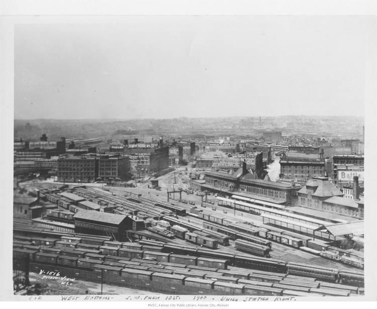 An expansion in the West Bottoms of railroad and commerce left many African-Americans looking for homes elsewhere.
