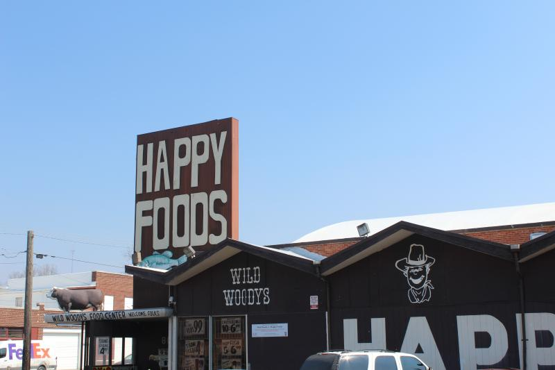 Wild Woody's Happy Foods is on 31st St. and Myrtle Ave. in Kansas City, Mo.
