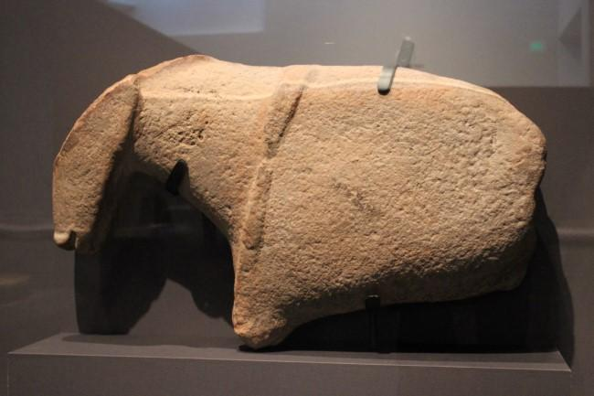 One recently discovered object is a fragment of a horse from ca. 7000 BCE. Markings of a bridle may support the claim that the peoples of Arabia domesticated the horse.