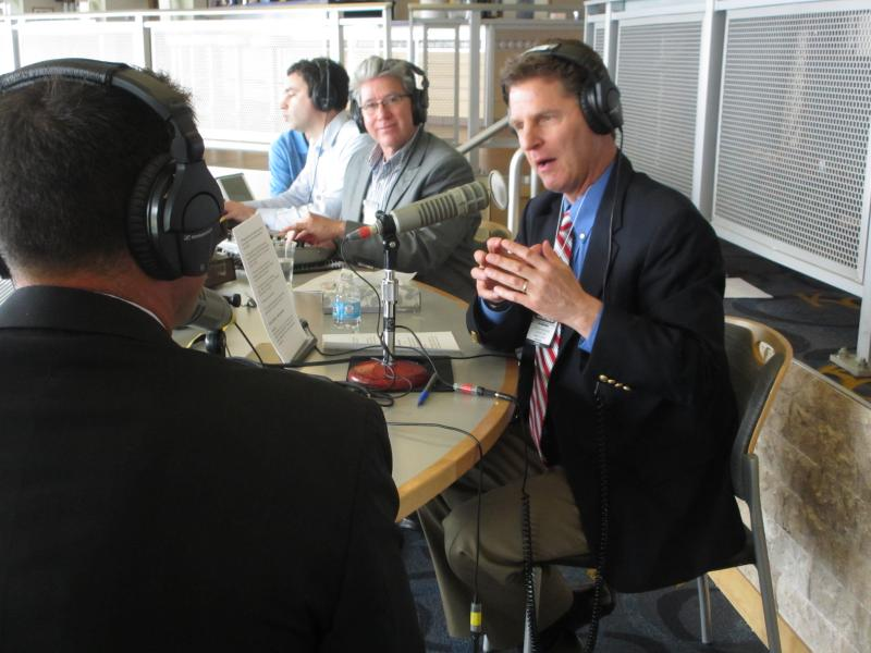 Steve Kraske interviews J.J. Picollo, Assistant General Manager of Scouting and Player Development.