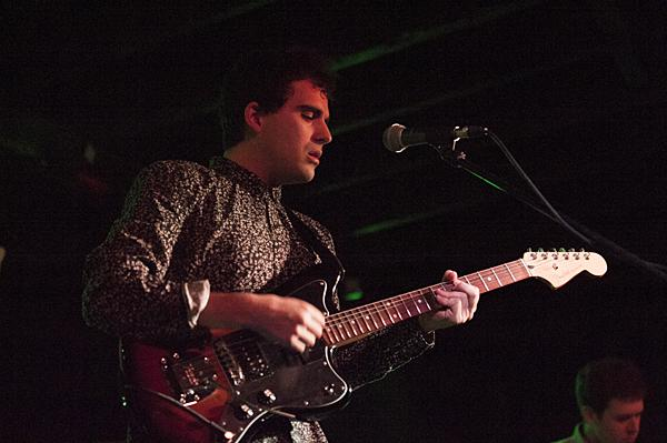Ski Lodge's Andrew Marr performs at Riot Room.