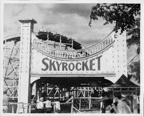 A roller coaster at Fairyland Park cost 10 cents a ride.
