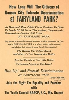 African-Americans were only allowed to go to Fairyland Park one day a year until 1964.