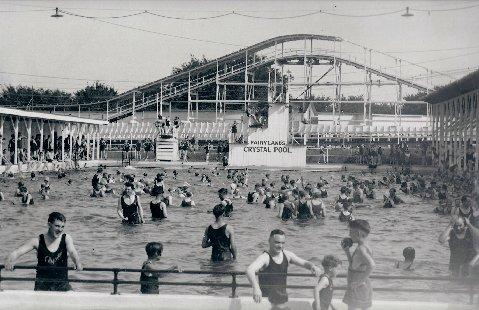 Crystal Pool was a popular destination during the summer days of no air conditioning in Kansas City, Mo.