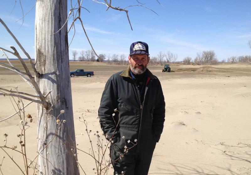 Tekamah, Neb. farmer Scott Olson is among more than 200 landowners on the Missouri River suing the Army Corps of Engineers over flood control.