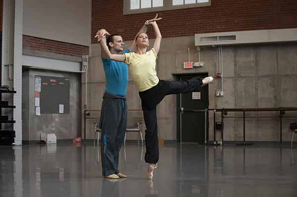 An open rehearsal at the Todd Bolender Center for Dance & Creativity allows a peek into the dance festival's progress.