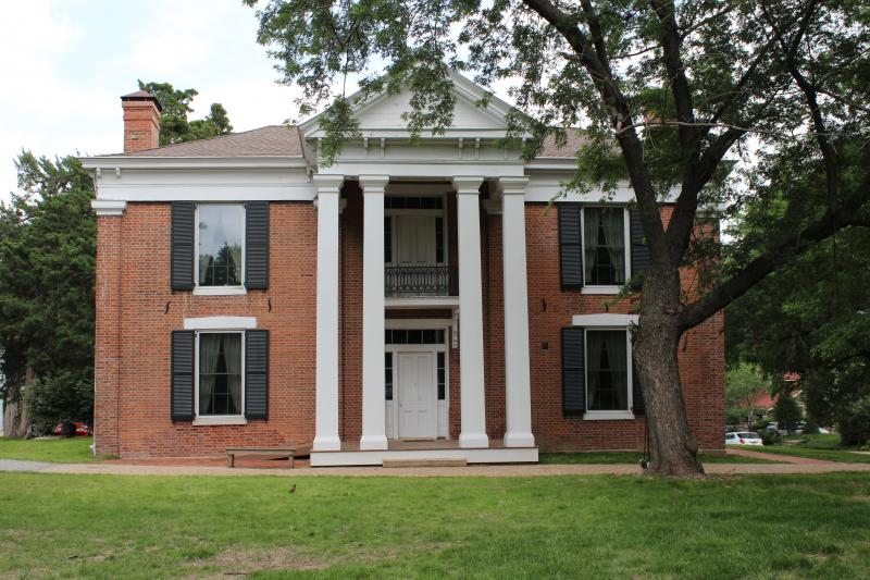 The Wornall House at 6115 Wornall Rd., served as a field hospital for both Union and Confederate troops.