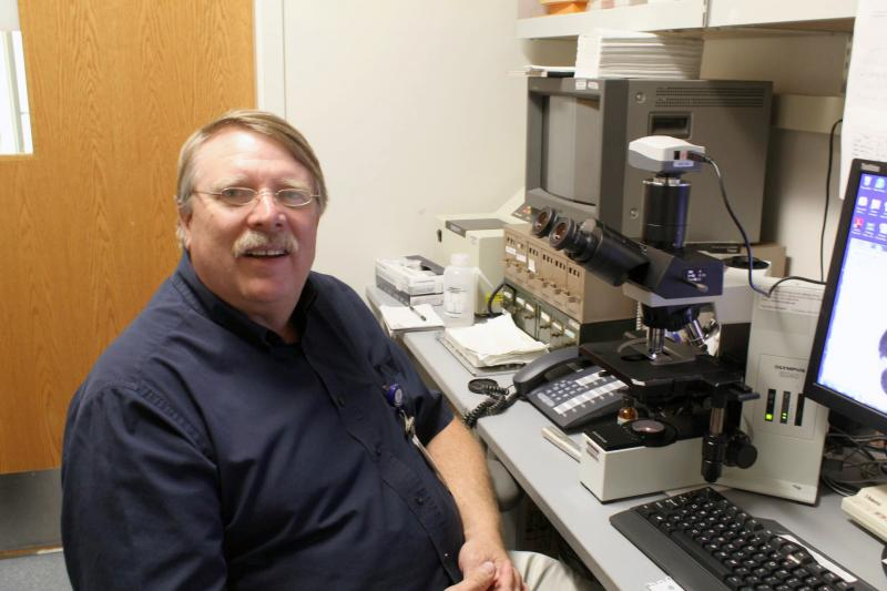 Dr. Charles Barnes, director of research for Children's Mercy's allergy, asthma, and immunology department, is the man behind the pollen count for Kansas City.