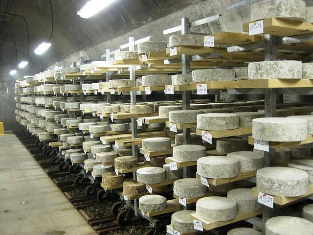 "Cheese makers such as Paris Brothers have used underground space in Kansas City to ""cave age"" cheese."