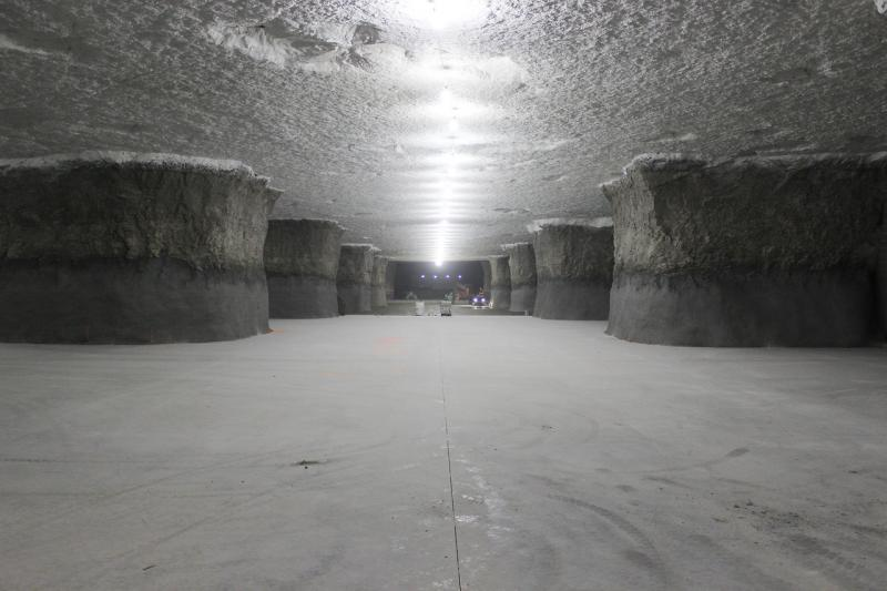This addition to the already enormous 6 million plus square foot SubTropolis underground complex in Kansas City, Mo., is currently under construction.