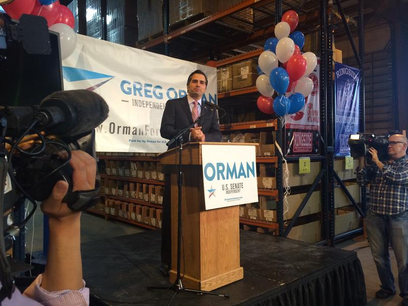 Olathe businessman Greg Orman on Wednesday joined the race to be Kansas governor as an independent candidate. In 2014 he challenged U.S. Sen. Pat Roberts, losing by a 10-point margin.