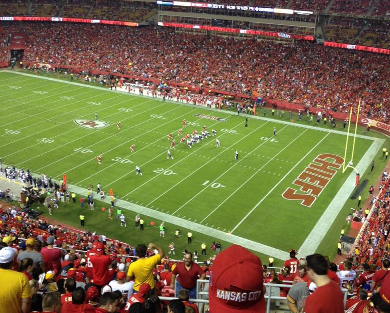 Arrowhead Staduim is one of the potential U.S. venues when the World Cup comes to North America in 2026.