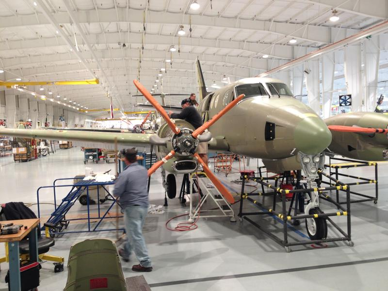 After A Six-Year Dive, Wichita Aviation Industry May Be Looking Up