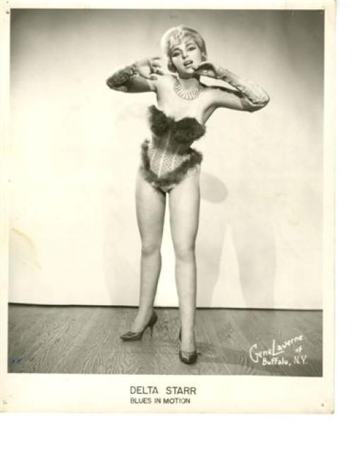 Delta Starr. 'I think many entertainers in addition to the famous Blaze used the surname Starr,' says Paul.