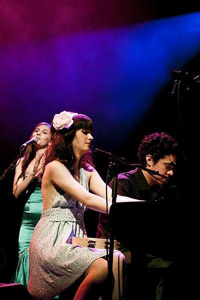 "Zooey Deschanel and ""M"" Ward"