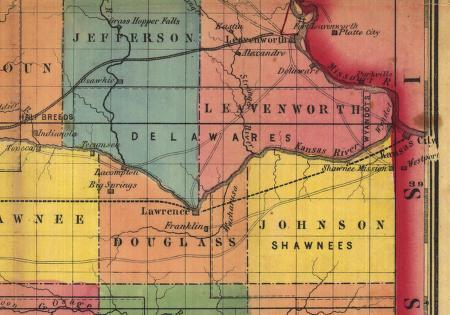 How Wyandotte County Was Formed From Johnson Leavenworth