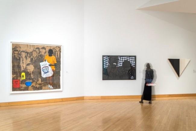An installation view at the Kemper Museum.