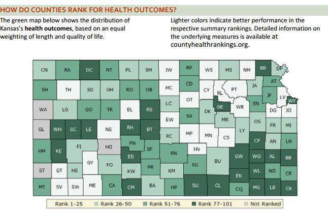 Two Kansas Counties Two Vastly Different Health Outcomes Kcur