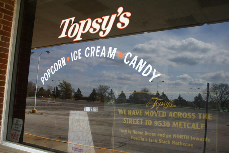 Topsy's was one of the first shops in Metcalf South and one of the last to leave